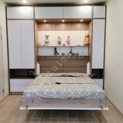 Шкаф-кровать с подсветкой