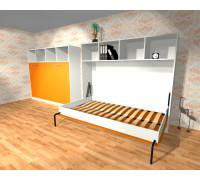 """Комплект детской мебели со шкаф-кроватью """"Анюта"""" Манго"""