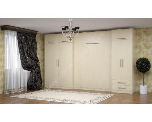 "Комплект корпусной мебели со шкаф-кроватью ""Ратмир """