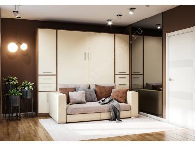 """Шкаф-кровать с диваном """"Злата"""" в Санкт-Петербурге"""