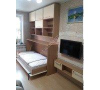 Детская горизонтальная шкаф-кровать